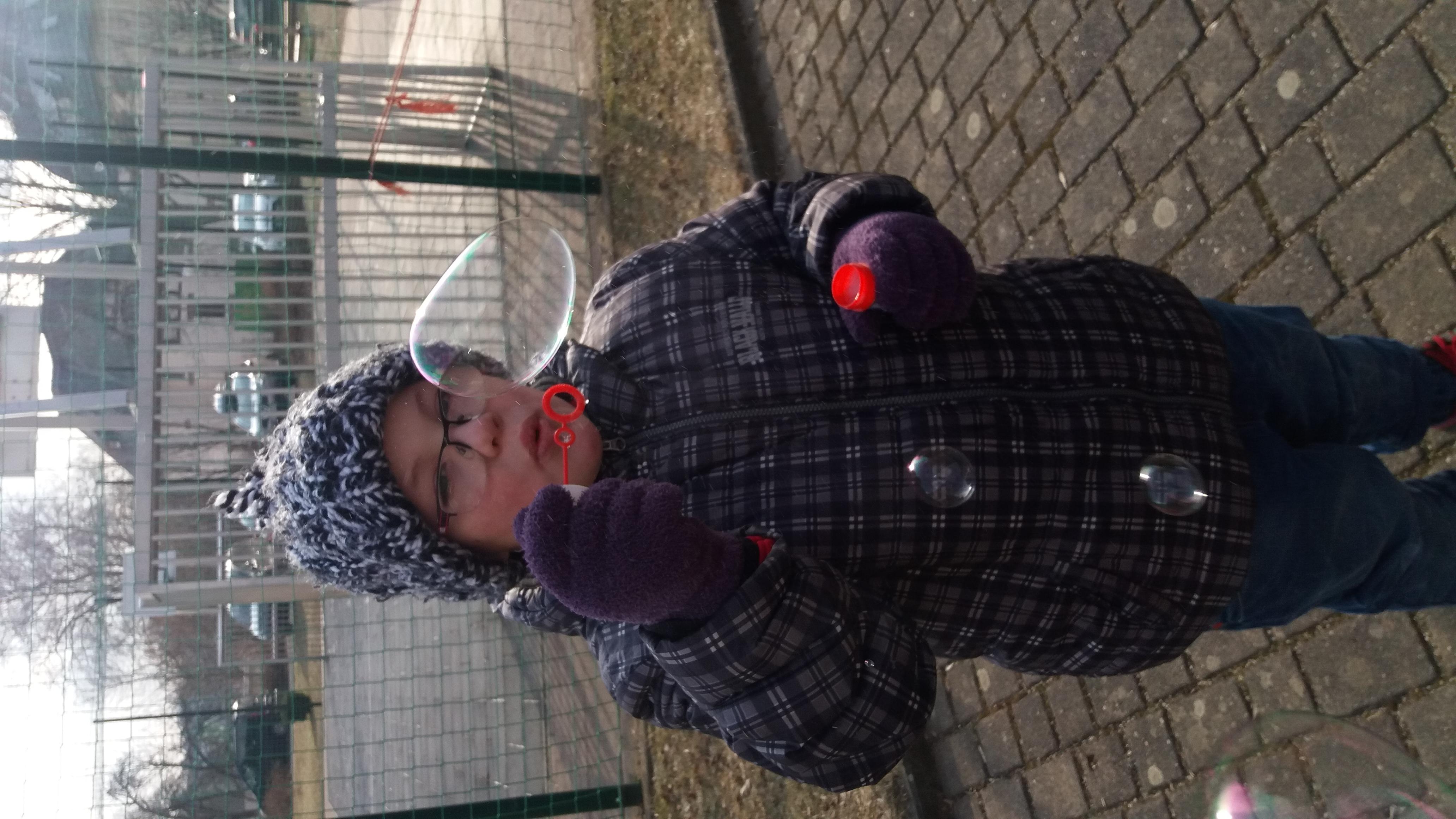 wann gefrieren seifenblasen